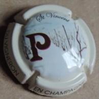 Capsule De Champagne -  Passy Grigny - Puzzle Des 12 Mois Du Vigneron - P - N°1 - Janvier - Champagne