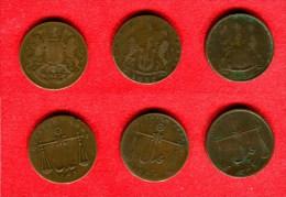 INDE -INDIA - LOT 1 QUARTER ANNA  1830 - 1832 - 1833 - India