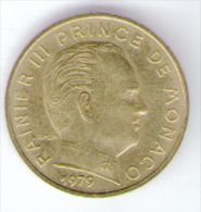 MONACO 10 CENTIMES 1979 RAINIER III - Monaco