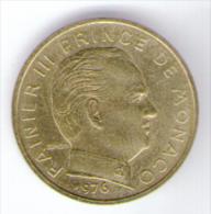 MONACO 10 CENTIMES 1976 RAINIER III - Monaco