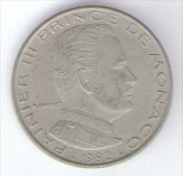 MONACO 1 FRANC 1982 RAINIER III - Monaco