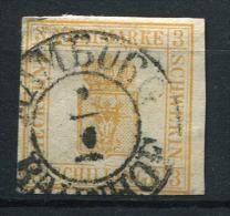 17465) MECKLENBURG-SCHWERIN # 8 Gestempelt Aus 1864, 300.- € - Mecklenburg-Schwerin