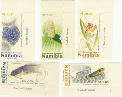 Namibië 1097/1101*** Recent Ontdekte Dieren Cat 10.50 Euro - Namibie (1990- ...)
