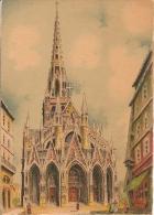 Signée BARDAY  ;  ROUEN L'église St Maclou - Other Illustrators