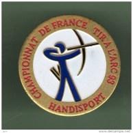 TIR A L´ARC *** CHAMPIONNAT DE RANCE HANDISPORT *** (1020) - Bogenschiessen