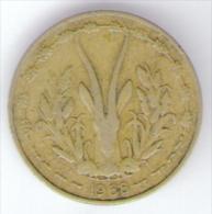ETATS DE L´AFRIQUE DE L´OVEST 5 FRANCS 1968 - Monete