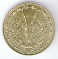 ETATS DE L´AFRIQUE DE L´OVEST 10 FRANCS 1977 - Monete