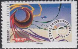 France - Timbres Autocollants 2014 / Dynamiques : Cerf-volant Autoadhésif N°933a - France