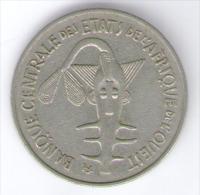 ETATS DE L´AFRIQUE DE L´OVEST 100 FRANCS 1967 - Monete