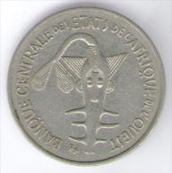 ETATS DE L´AFRIQUE DE L´OVEST 100 FRANCS 1969 - Monete