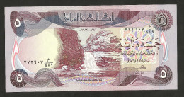 [NC] IRAQ -CENTRAL BANK Of IRAQ -  5 DINARS (1982) - Iraq