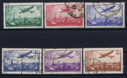 France: Yv  AE 8-13, Oblitéré/cancelled - 1927-1959 Used