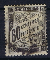 France: Yv  Timbre Taxe 21  Oblitéré/cancelled - Postage Due