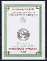 France: Carnet Croix Rouge Yvert Nr 2005 , MNH/** 1956 - Carnets