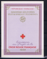 France: Carnet Croix Rouge , MNH/** 1958 - Carnets