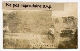 - Carte Photo - RUINAS DE CHANCAN - TRUJILLO - ( P�rou ), animation, senior, peu courante, �crite,  TBE, scans.