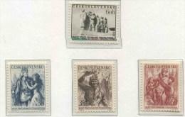 1955 Cecoslovacchia, Anniversario Liberazione , Serie Completa Nuova (**) - Tchécoslovaquie