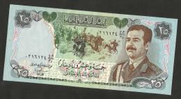 [NC] IRAQ - CENTRAL BANK Of  IRAQ - 25 DINARS (1987) - SADDAM HUSSEIN - Iraq