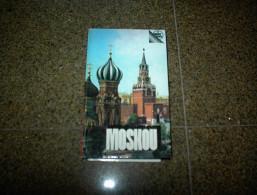 MOSCOU MOSKOU REISGIDS B052 - Aardrijkskunde