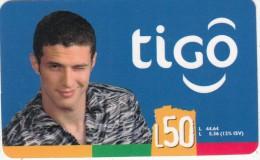 HONDURAS - Boy, TIGO Prepaid Card L50, Exp.date 12/06, Used - Honduras