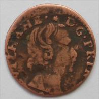 Orange Guillaume-Henri De Nassau , Denier Tournois - 476-1789 Period: Feudal