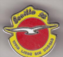 Spain  Old Pin Badge - Sevilla `92 - Badges