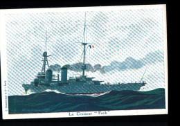 TH BATEAUX Croiseur Foch, Marine Militaire, Illustrée Haffner, Ed Ligue Maritime & Coloniale, 193? - Guerre