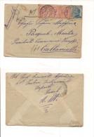 BFP17 POSTA MILITARE PREMETI RACCOMANDATA 2.10.1920 - Storia Postale