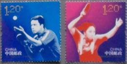 China 2013 Joint Issue With Sweden- Table Tennis 2v Mint - Non Classificati