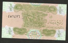 [NC] IRAQ -CENTRAL BANK Of IRAQ - 1/4 DINAR - UNC - Iraq