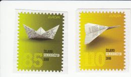 IJsland Jaar 2008 1207/1208*** Europa Zelfklevend Cat 3.40 Euro - 1944-... Republik