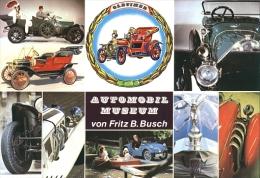 Ansichtskarte (Großformat) Automobil-Museum Von Fritz B. Busch Im Schloss Wolfegg 60er-Jahre - Autres