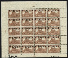 D.R.Bogen,117,Pl.1,2x I,F.1+9 (M3) - Deutschland