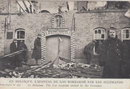 Ziekenhuis Van Loo Vernield Door Duitsers       Gasthuis      Guerre    1914- 1918 WO I         Scan 6381 - War 1914-18