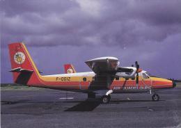 Air Guadeloupe De Havilland DHC 6 Twin Otter 300 Aircraft Postcard (A24768) - 1946-....: Ere Moderne