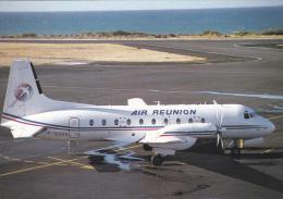 Air Reunion BAe HS 748 264 Aircraft Postcard (A24770) - 1946-....: Ere Moderne