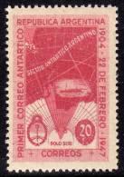 Argentine Thème Polaire N° 485  XX 43ème Anniversaire Du 1er Courrier Antactique Argentin  TB - Argentinië
