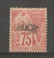 Obock_  Colonies Générales -  Surchargé  75 C _ Signé Caves N° 10