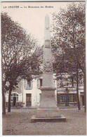 36. LA CHATRE . LE MONUMENT DES MOBILES . Edition N.G. - La Chatre
