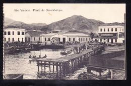 CV-03 SAO VICENTE PONTE DO DESEMBARQUE - Cape Verde