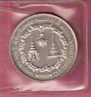 THAILAND 50 BAHT 1974 AG UNC NATIONAL MUSEUM CENTENNIAL - Thaïlande