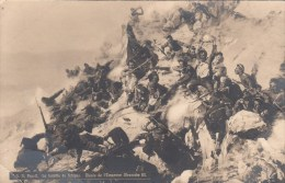 Photocarte-A. N. Popoff. La Bataille De Schipka.Musée De L´Empereur III(2scans En Rouge Au Dos Carte Défauts Et Cassure) - Russia