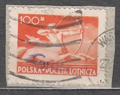 Poland 1950 Mi# 590 Overprint ´groszy´ - 1944-.... Republik