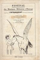 Programme Illustre Musique Militaire D'europe Organisé Par L'intransigeant 1933 En 24 Pages - Altri