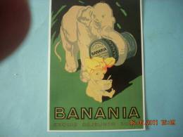 CLOUET    10400  BANANIA   ELEPHANT - Publicidad