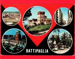 ITALIA - CAMPANIA - Cartolina Viaggiata  Anni 70 - Battipaglia (Salerno) - Vedute - Battipaglia
