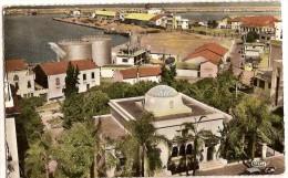 CPSM - ALGERIE - PHILIPPEVILLE - Le Syndicat D'initiative Et Le Port AU DOS TAMPON..... - Algérie