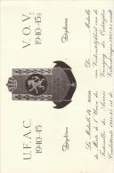 Diplome Médaille Militaire Mérite De L'union Fraternelle Des Anciens Combattants .. - Documents