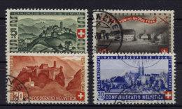 Schweiz Michel No. 431 - 434 gestempelt used