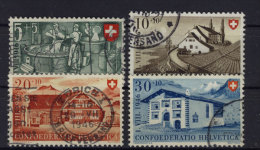 Schweiz Michel No. 471 - 474 gestempelt used